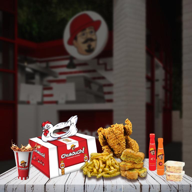 مرغ کنتاکی سوخاری چاکوچ