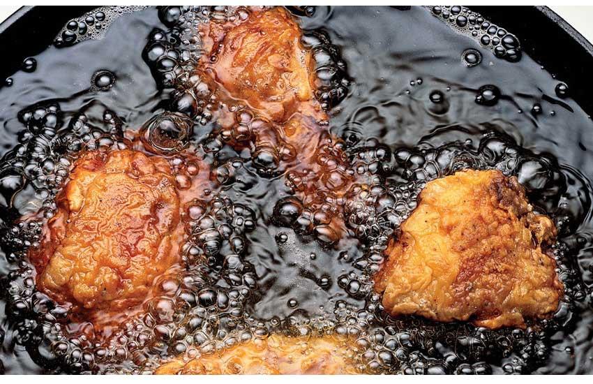 مرغ سوخاری غذایی سالم