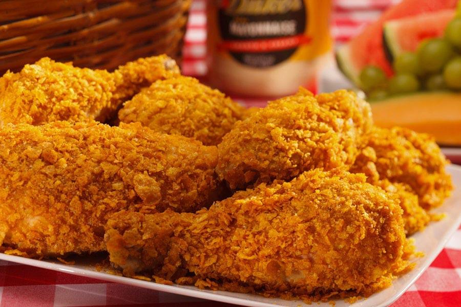 مرغ سوخاری کنتاکی